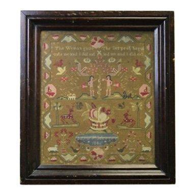 1844 American Sampler