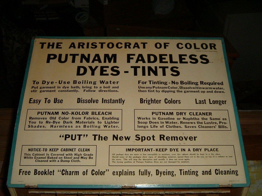 1940s Putnam Store Display - 5