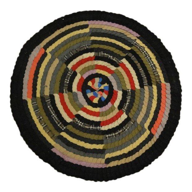 Handmade Circular Kaleidoscope Rug