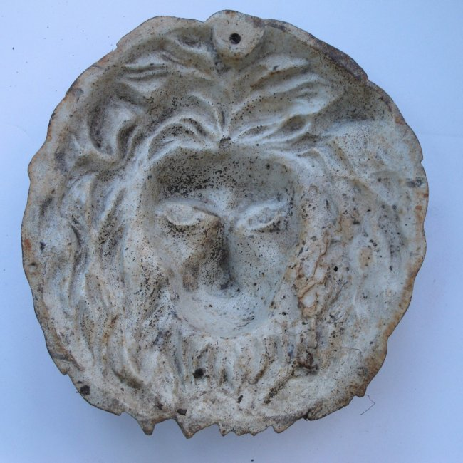 20th C Cast Iron Lion Head - 3