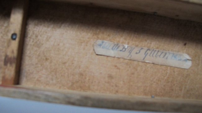 20th C Incised Toy Sled - 5