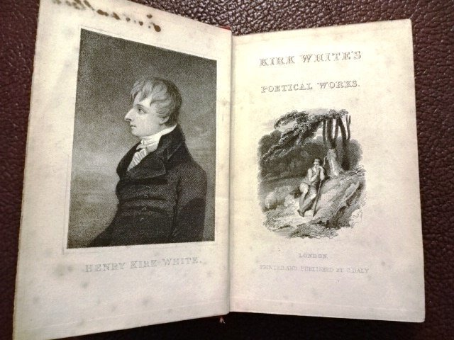 Kirk White's Poetical Works, 1840 - 3