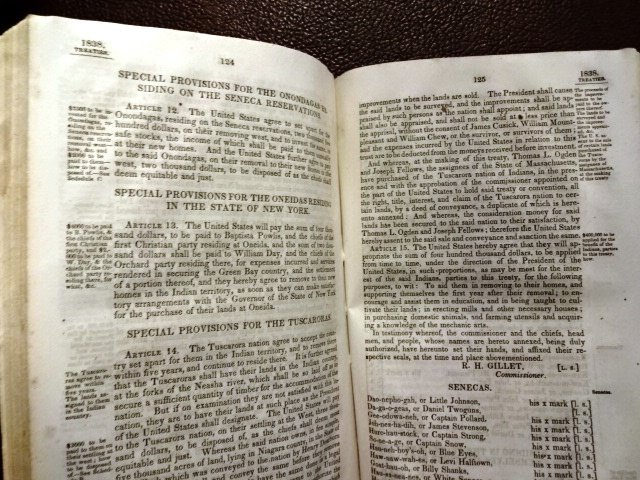1840 Acts Resolution Congress Mexico & Indian Treaties - 2