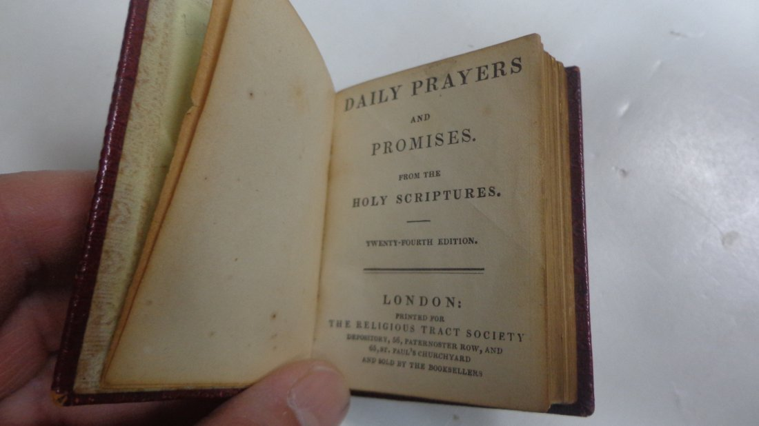 Daily Prayers & Promises from the Holy Scriptures, 1845 - 2