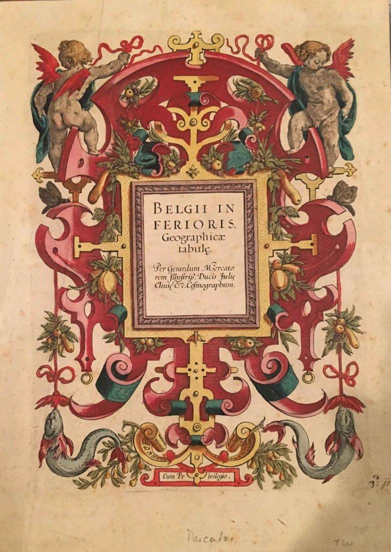 Belgii Inferioris, G. Mercator 1600's