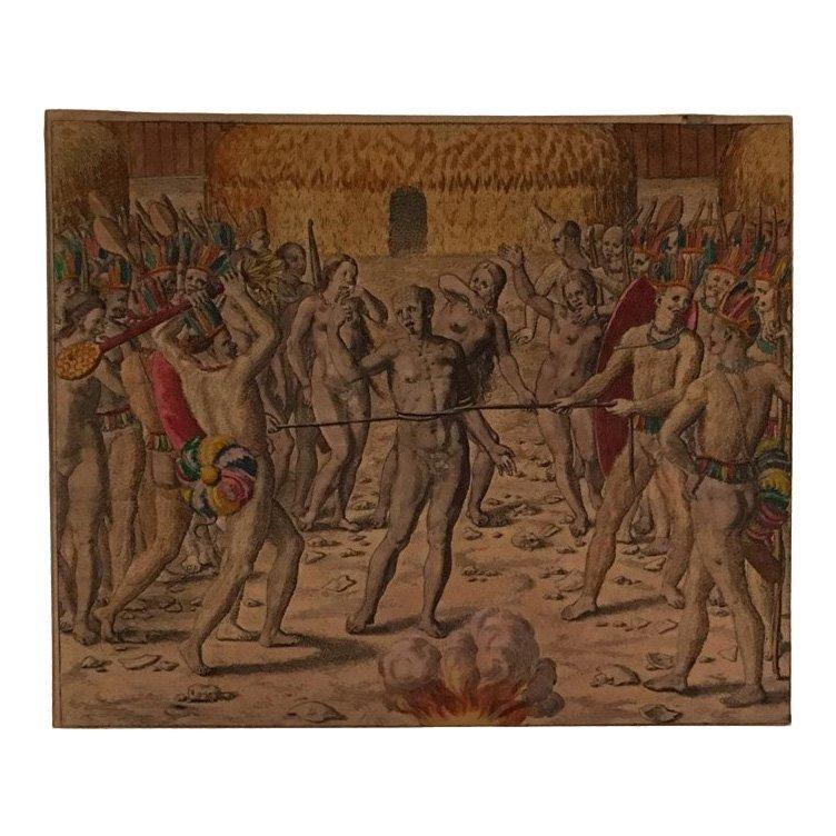 Killing Prisoners, Theodore de Bry 16th C