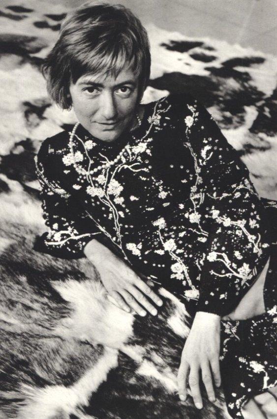 Edouard Boubat: Francoise Sagan