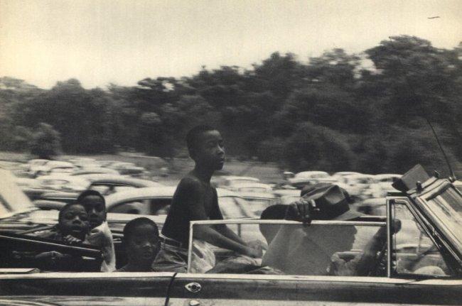 Robert Frank: Belle Isle, Detroit