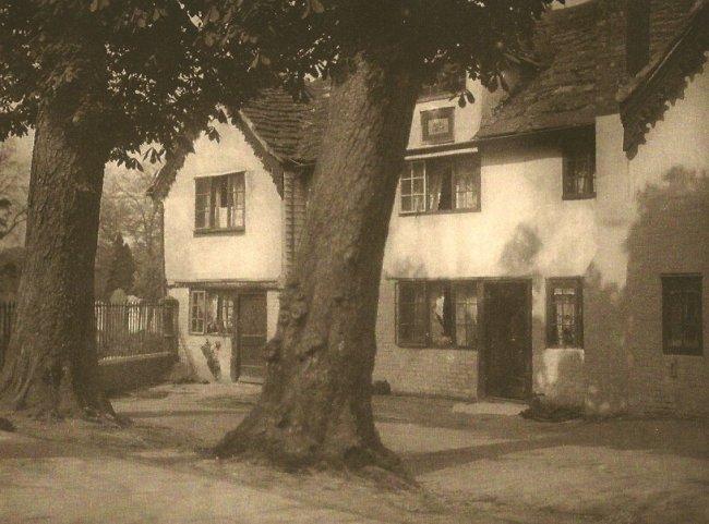 E.O. Hoppe: Old Houses Horsham, Sussex