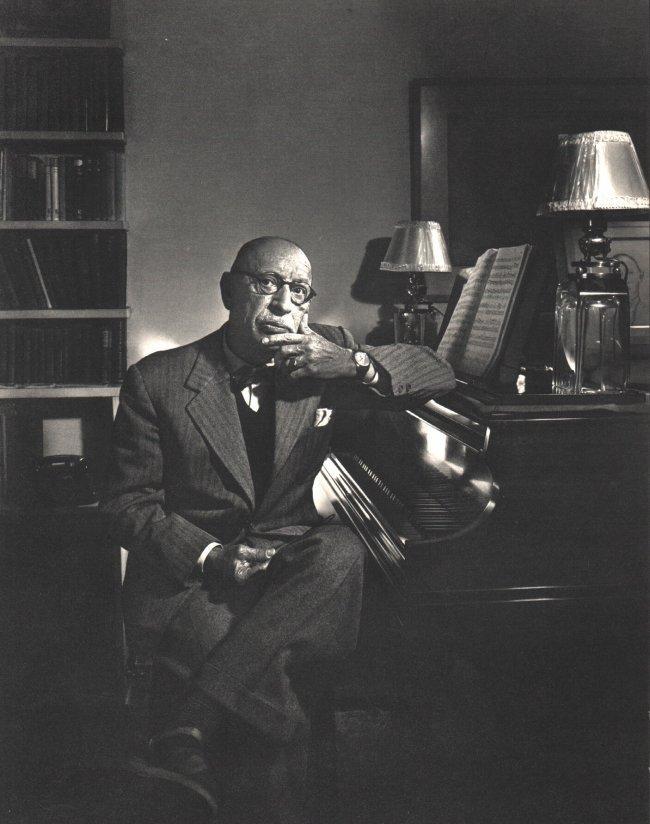Yousuf Karsh: Igor Stravinsky