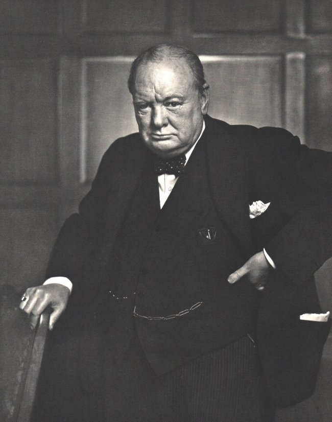 Yousuf Karsh: Winston Churchill