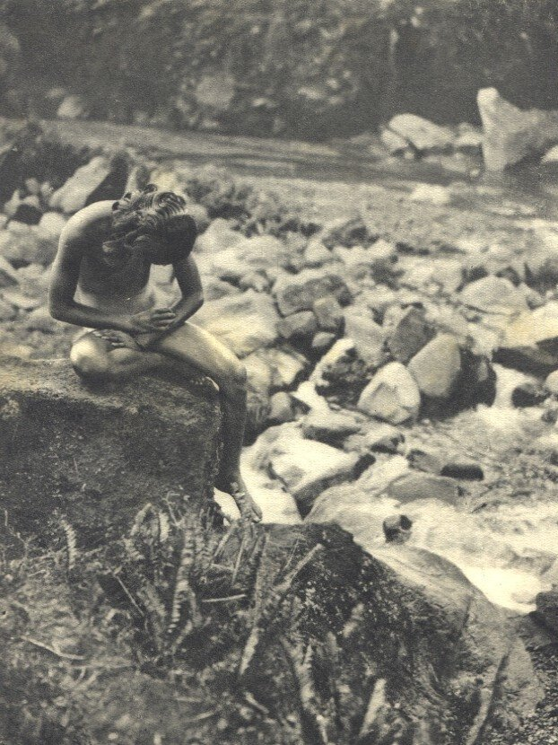 Dr. Gregor Krause: Bali, By the Stream
