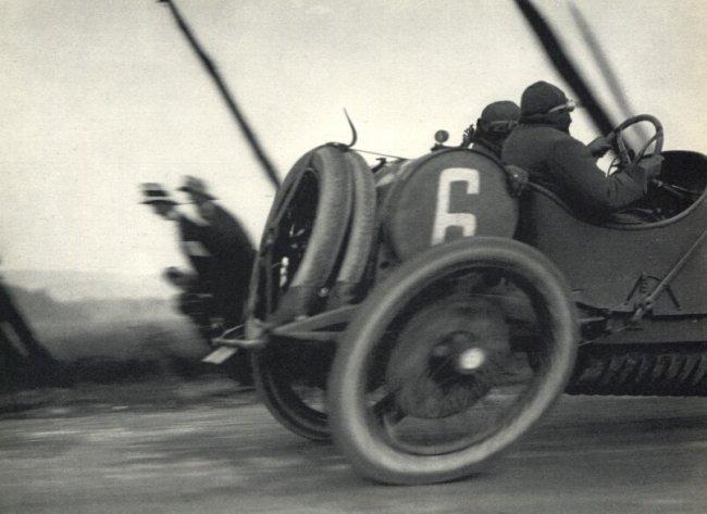 Jacques Henri Lartigue: Paris-Madrid Race