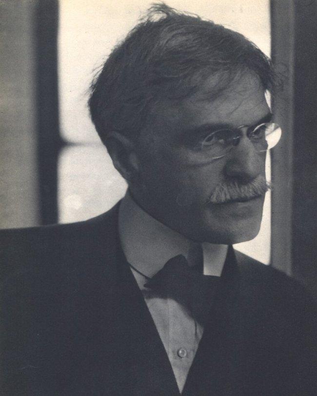 Edward Steichen: Portrait of Alfred Steiglitz