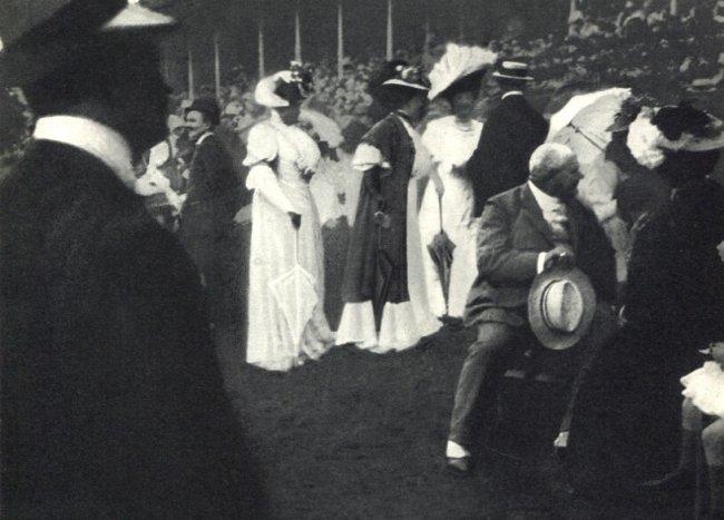 Edward Steichen: The Races at Longchamp