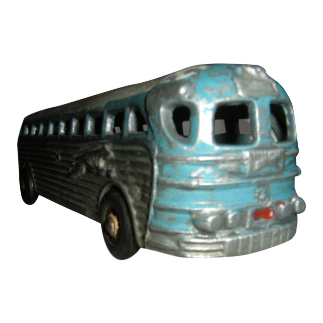 Cast Aluminum Greyhound Toy Bus, 1950's