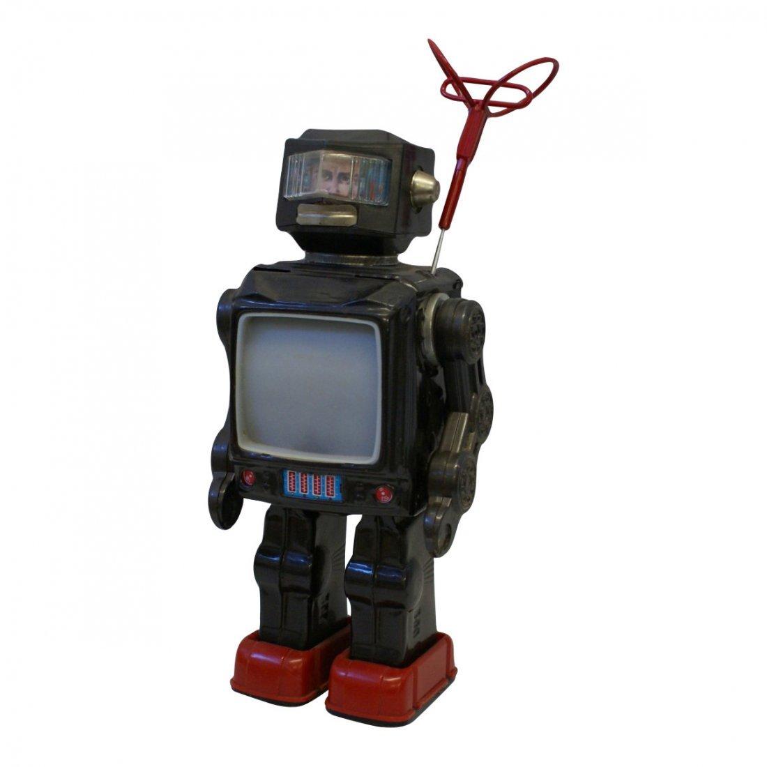 Horikawa Tin Super Astronaut TV Radar Robot, 1960's