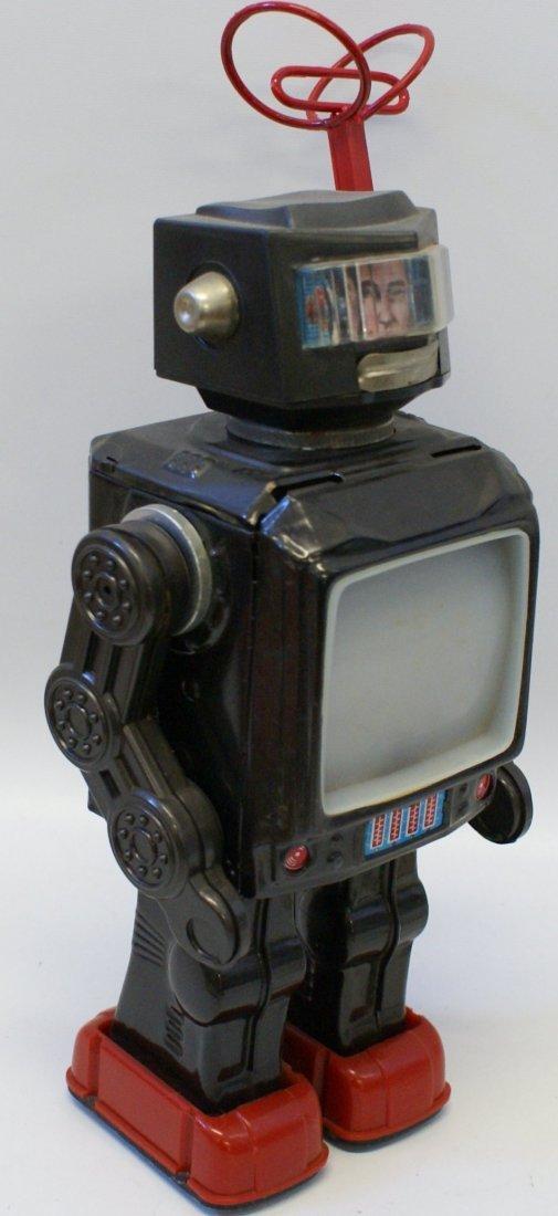 Horikawa Tin Super Astronaut TV Radar Robot, 1960's - 2