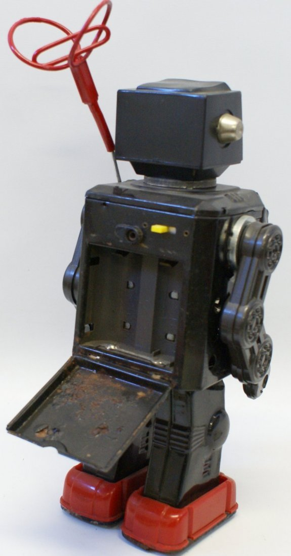 Horikawa Tin Super Astronaut TV Radar Robot, 1960's - 3