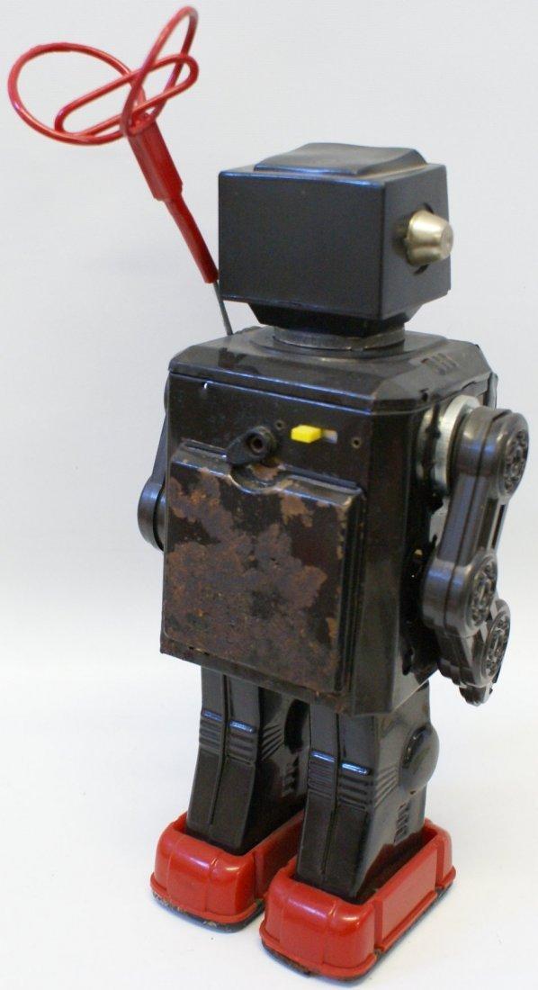 Horikawa Tin Super Astronaut TV Radar Robot, 1960's - 4
