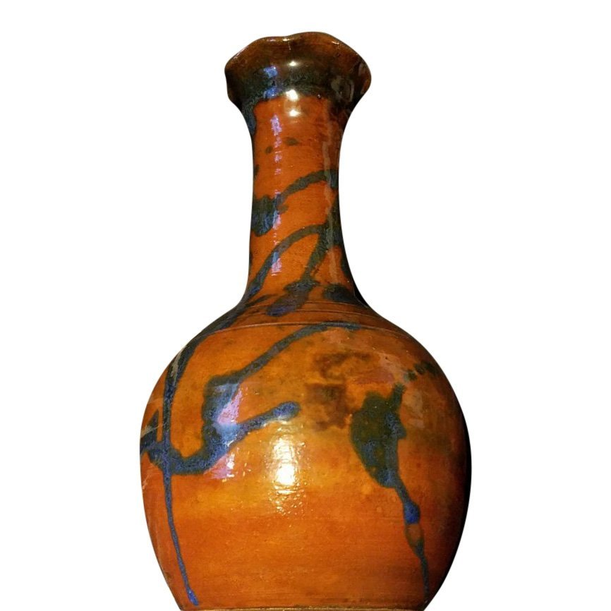 North State Redware Pottery Vase