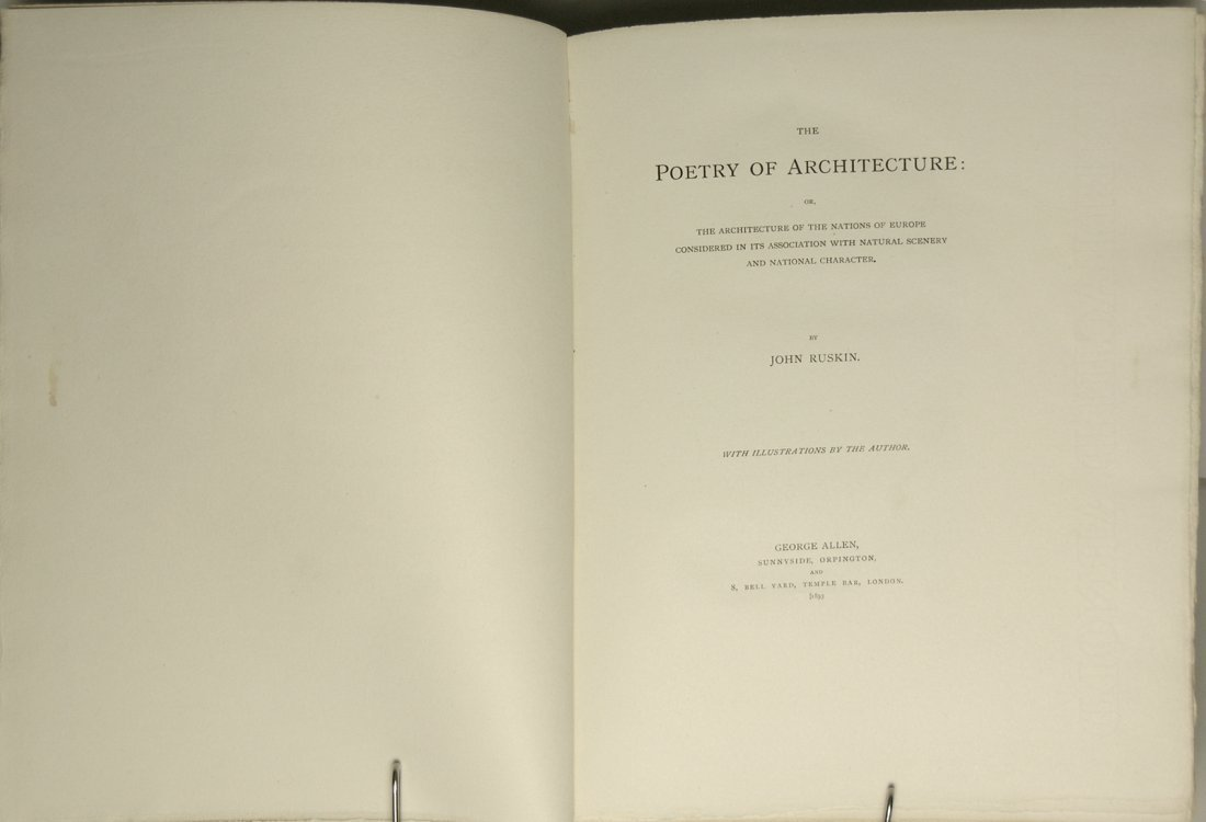 Poetry of Architecture-Nations of Europe by John Ruskin - 2