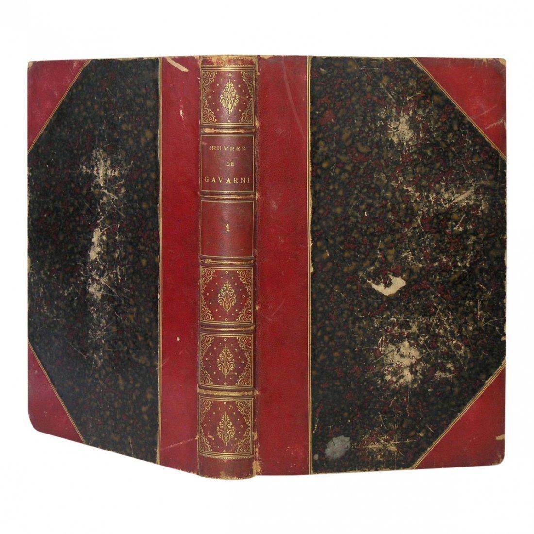 Oeuvres Choisies de Gavarni Vols I & II by Gavarni