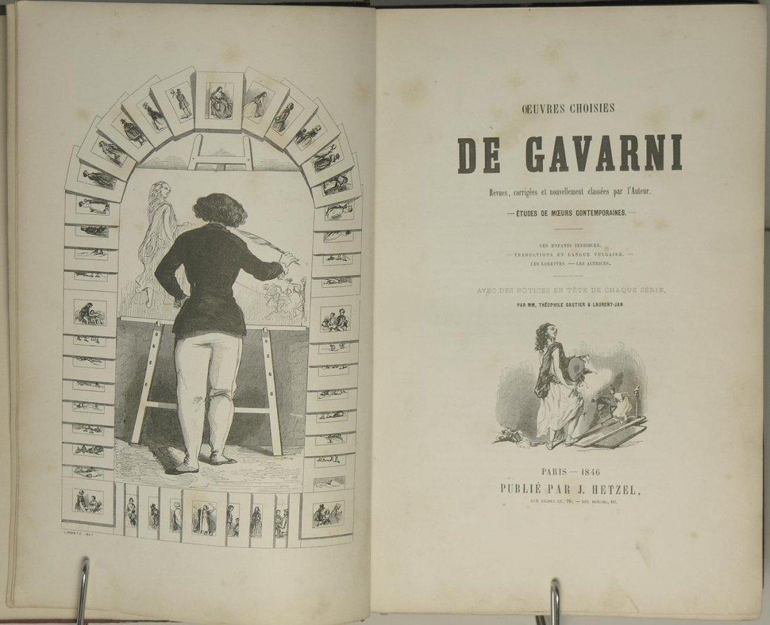 Oeuvres Choisies de Gavarni Vols I & II by Gavarni - 2