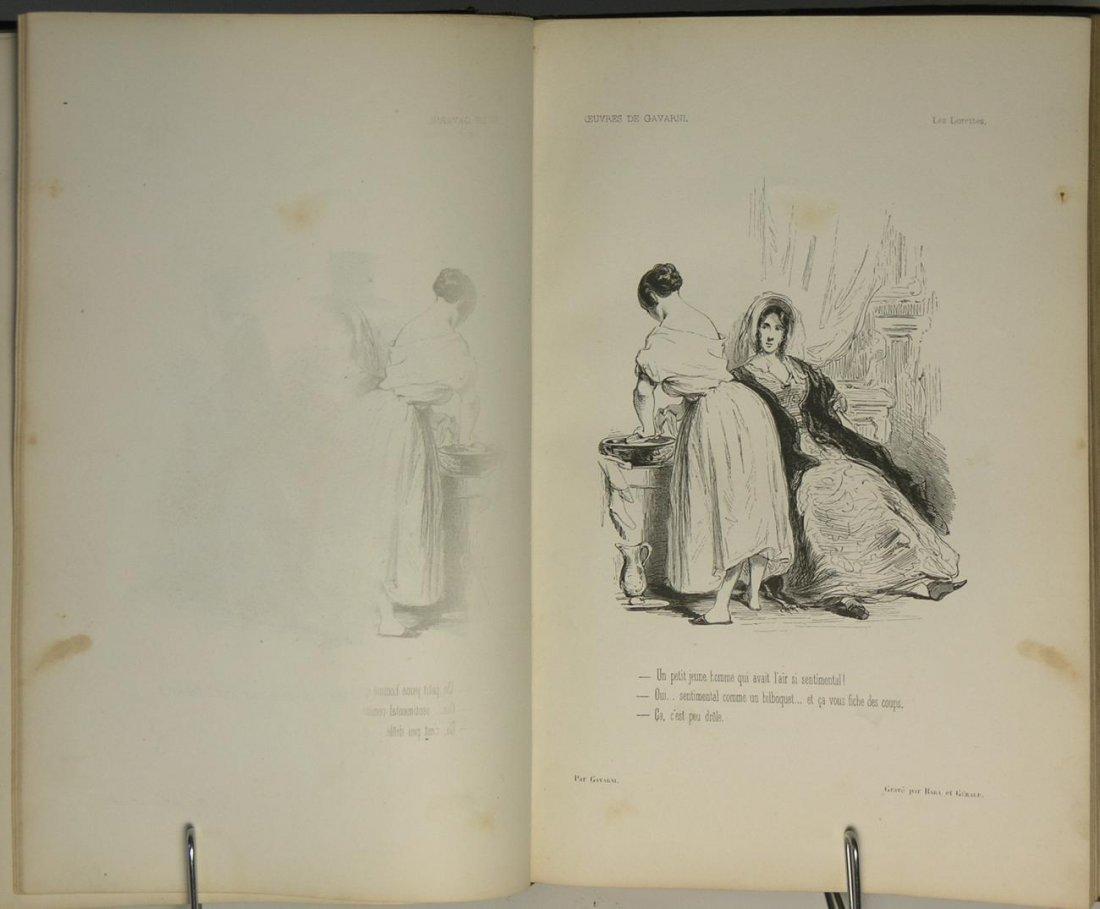Oeuvres Choisies de Gavarni Vols I & II by Gavarni - 3