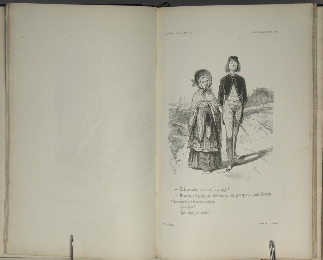 Oeuvres Choisies de Gavarni Vols I & II by Gavarni - 4