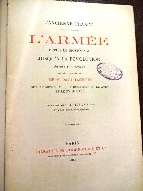 L'Ancienne France by De M. Paul Lacroix - 3