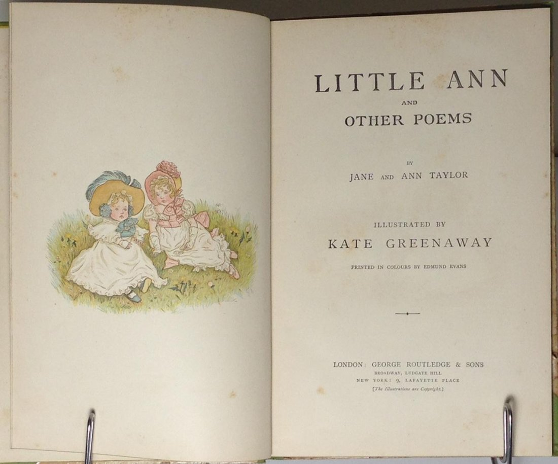 Little Ann and Other Poems by Jane & Ann Taylor - 2