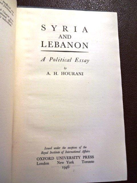 2 Books: Persia Syria Lebanon - 3