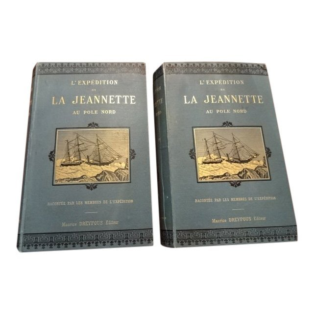 2 Vol Set: L'Expedition de la Jeannette au Pole Nord
