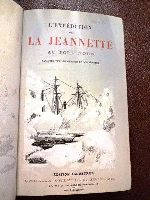 2 Vol Set: L'Expedition de la Jeannette au Pole Nord - 2