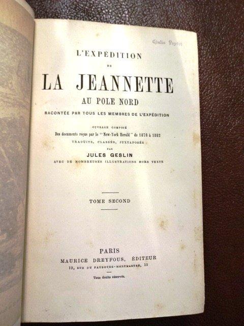 2 Vol Set: L'Expedition de la Jeannette au Pole Nord - 3