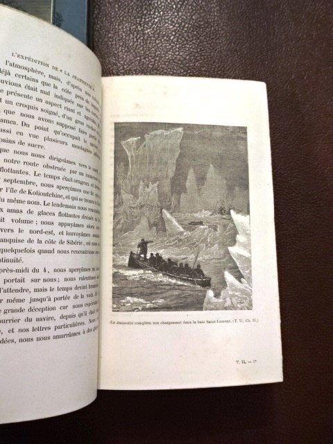 2 Vol Set: L'Expedition de la Jeannette au Pole Nord - 4
