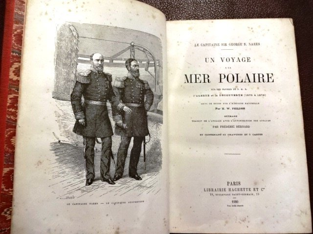 Prize Binding Polar Exploration by Sir George S. Nares - 2