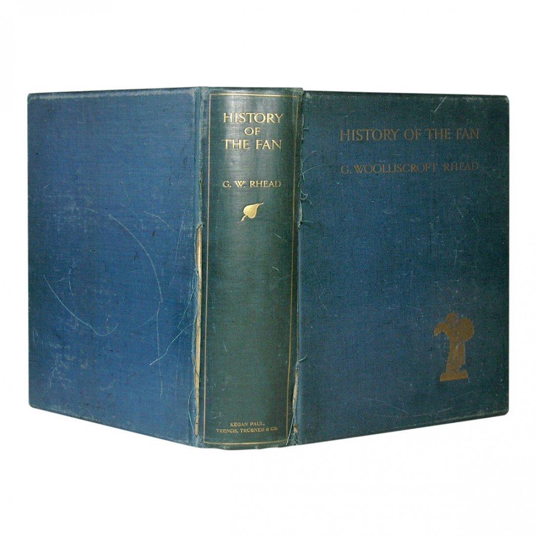History of the Fan by G. Woolliscroft Rhead