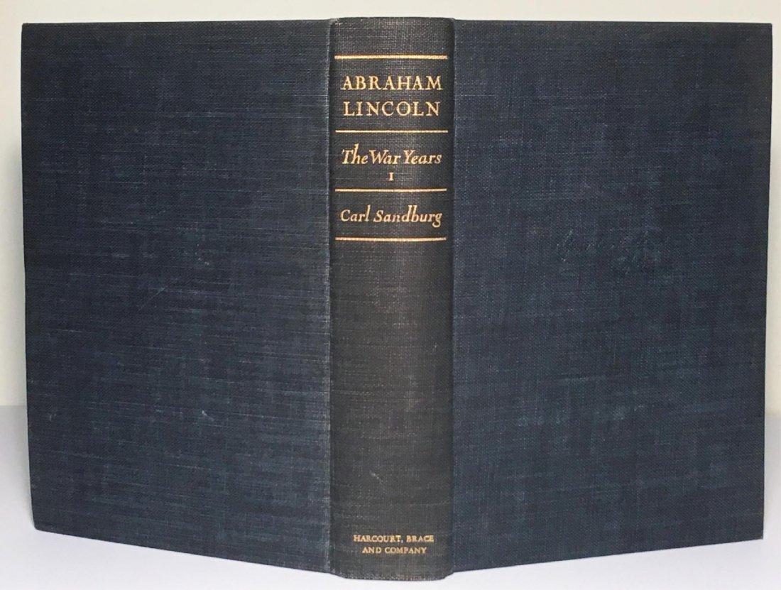 Abraham Lincoln The War Years by Carl Sandburg - 2