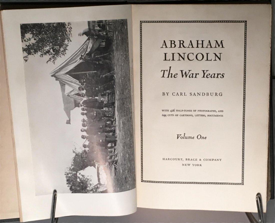 Abraham Lincoln The War Years by Carl Sandburg - 3
