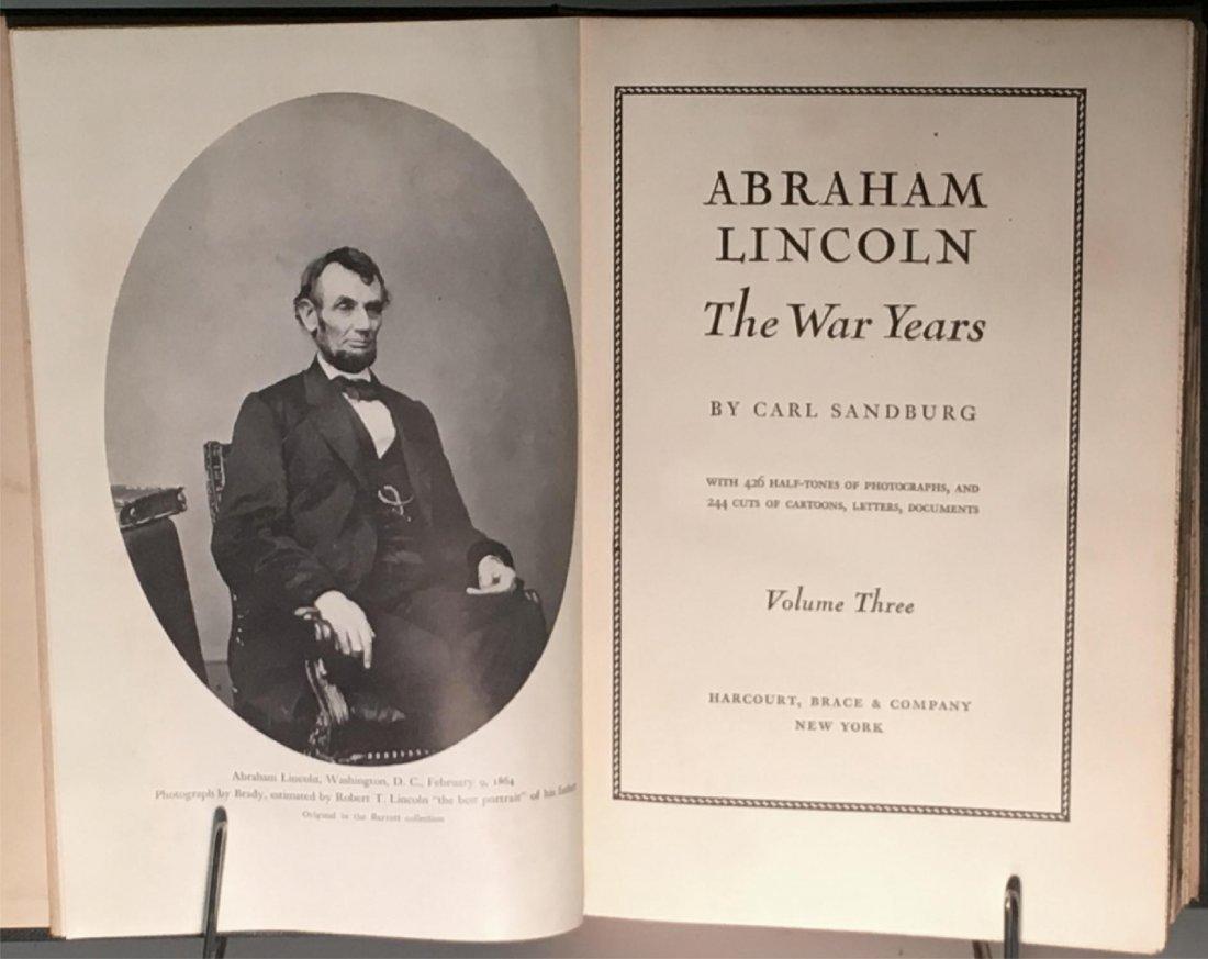 Abraham Lincoln The War Years by Carl Sandburg - 4