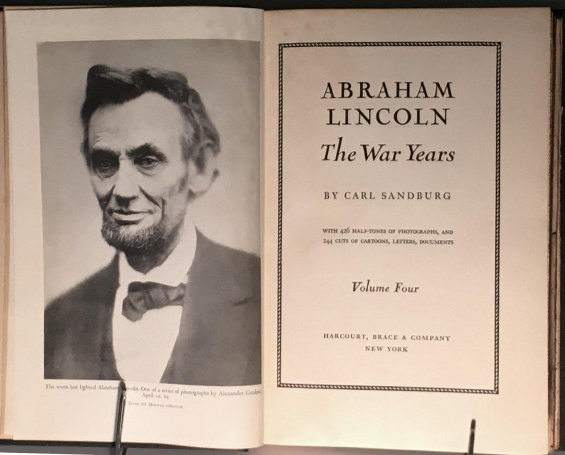 Abraham Lincoln The War Years by Carl Sandburg - 5