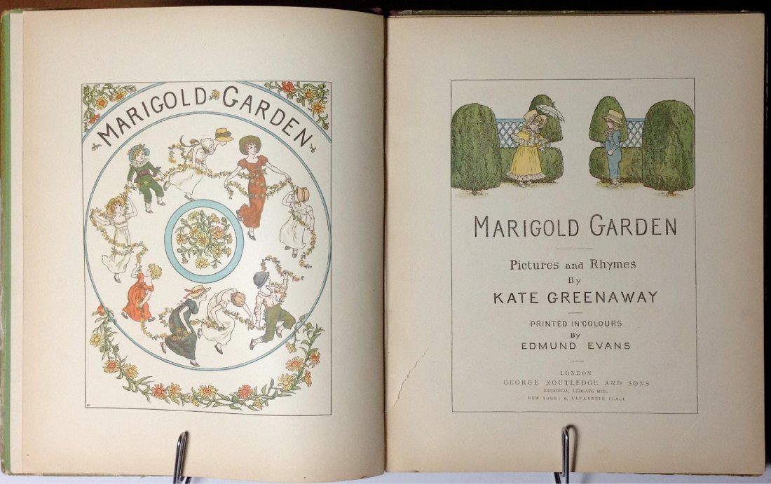 Marigold Garden by Kate Greenaway - 2