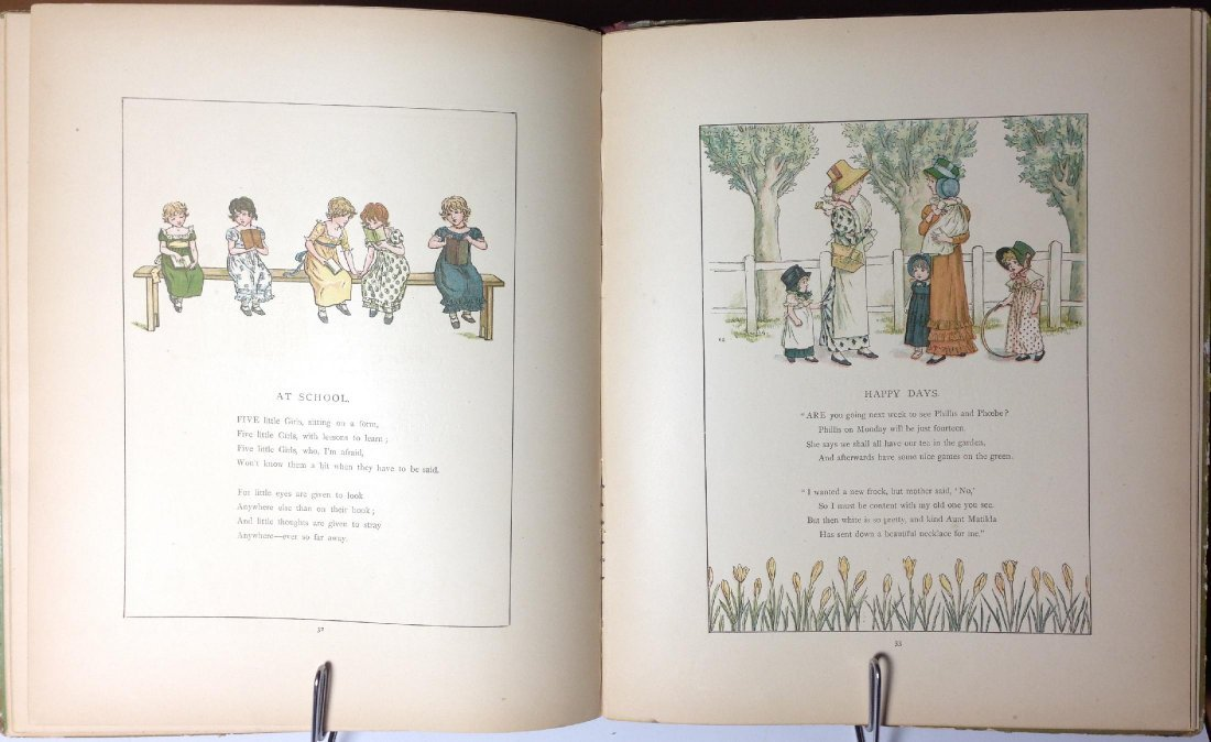 Marigold Garden by Kate Greenaway - 4