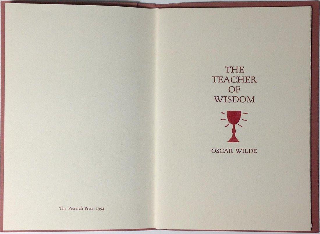The Teacher of Wisdom by Oscar Wilde - 2