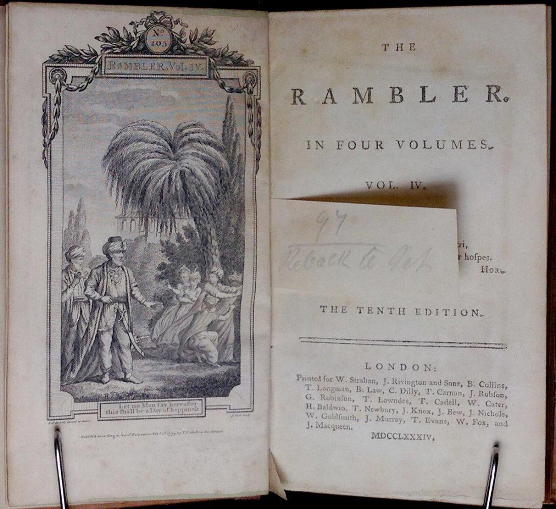 The Rambler Volume IV by Samuel Johnson - 2