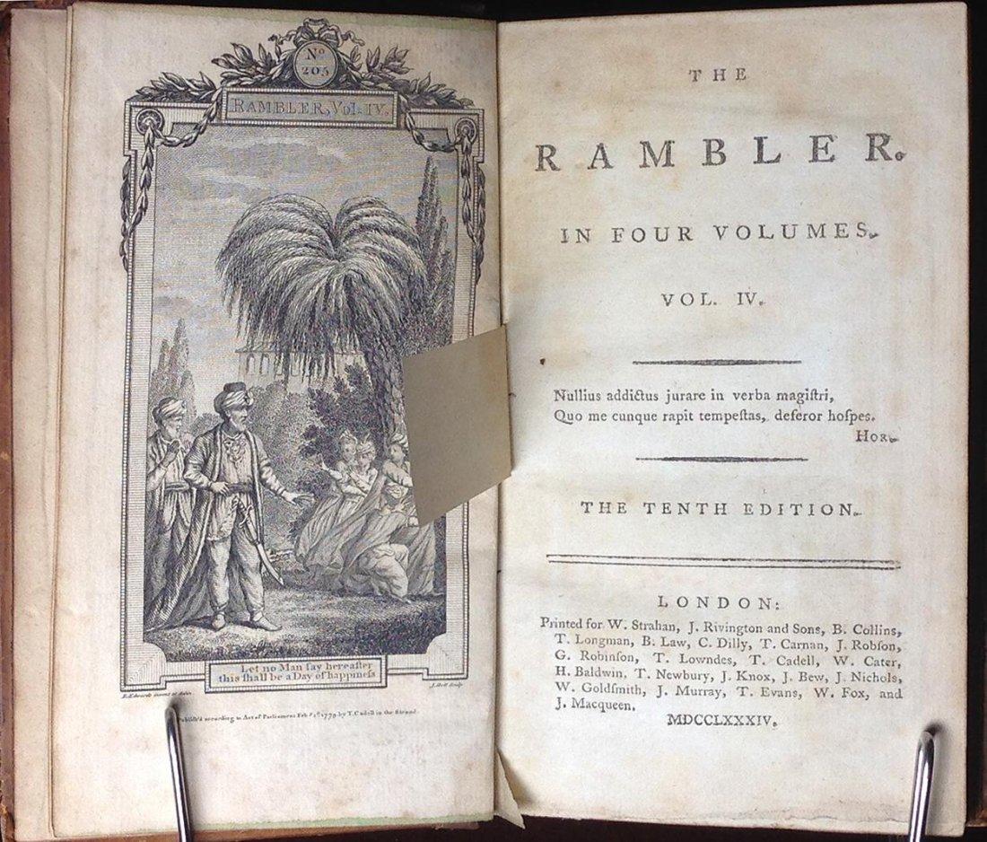 The Rambler Volume IV by Samuel Johnson - 3