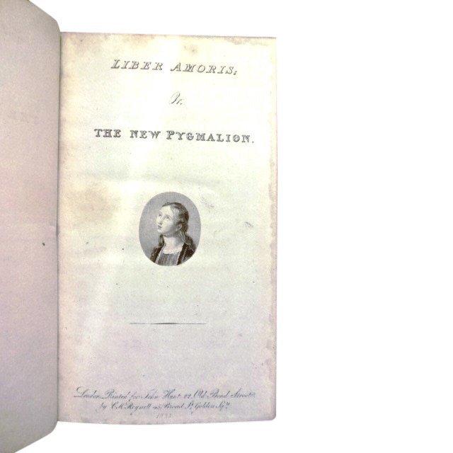 Liber Amoris New Pygmalion by William Hazlitt
