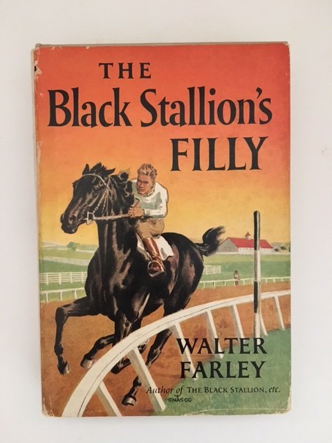 Black Stallion's Filly by Walter Farley, Signed 1952 - 7